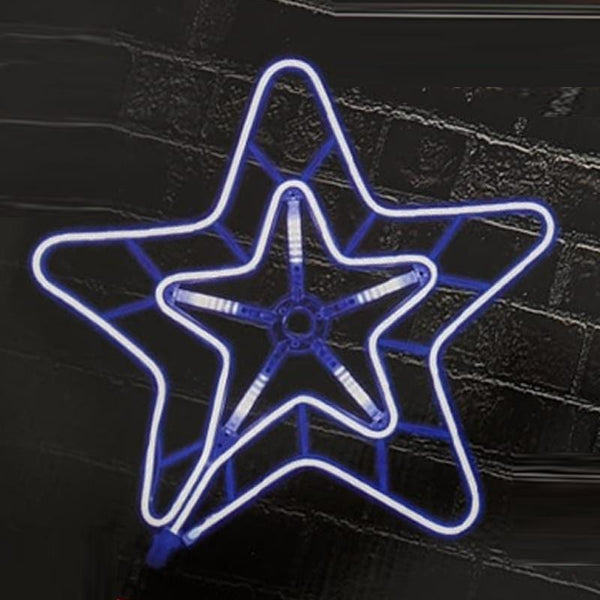 LED DIGITAL NEON FLEX STRIP 2D STAR