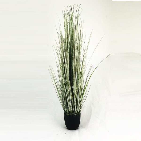 Snowy Green Grass Pot - 105cm