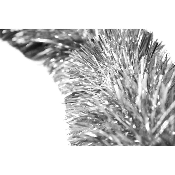 FINE CUT TINSEL SILVER - Christmas World