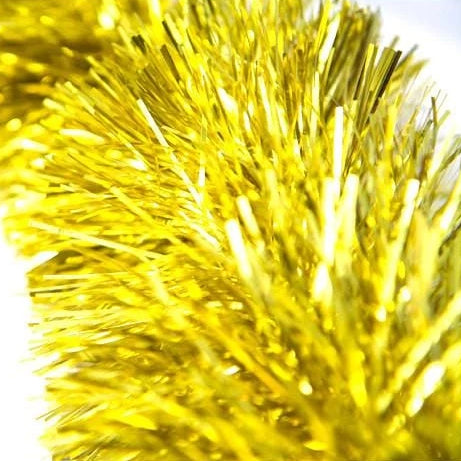 3M FINE CUT TINSEL Champagne Gold 12Ply - Christmas World