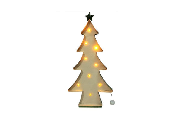 Metal Christmas tree Decoration with Lights
