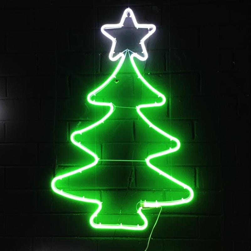 Neon LED Flex Strip Tree - Cool White