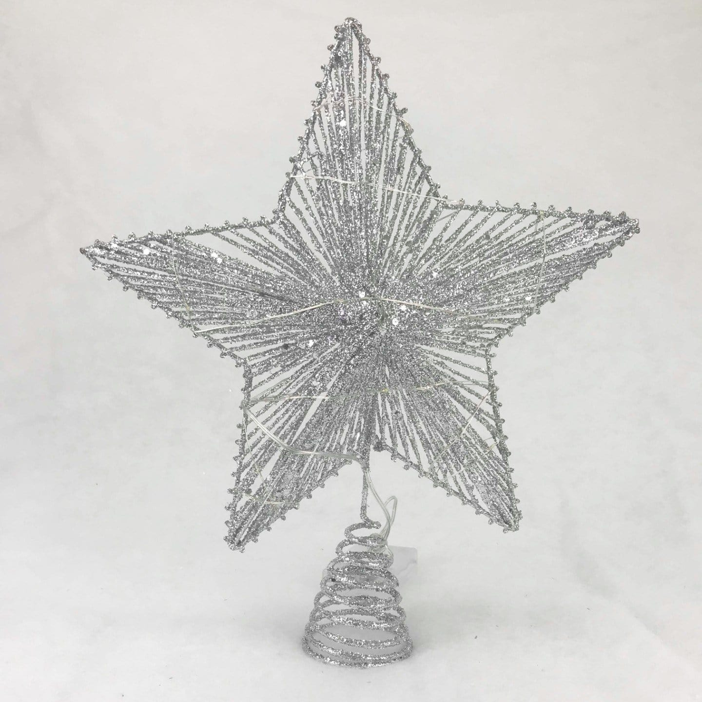 LED 3D Tree Top Star - Silver
