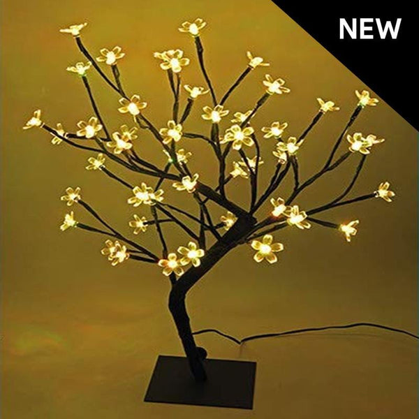 LED Bonsai Tree 45cm High - Warm White