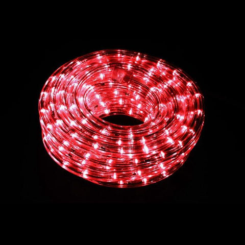 Rope lights led rope lights for christmas upto 70 off 9m connectable led rope light red aloadofball Images