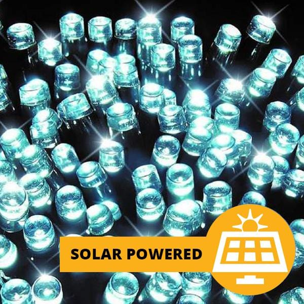 Solar LED Lights 200 - White - 16 meters