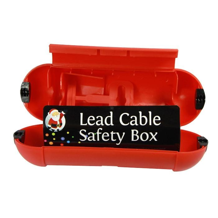 EXTENSION CORD SAFETY BOX - Christmas World