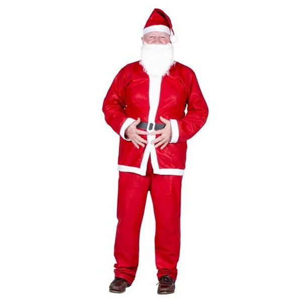 XMAS SANTA SUIT 5pc ADULT