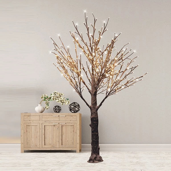 LED REAL LOOK WINTER TREE 180cm - WARM WHITE