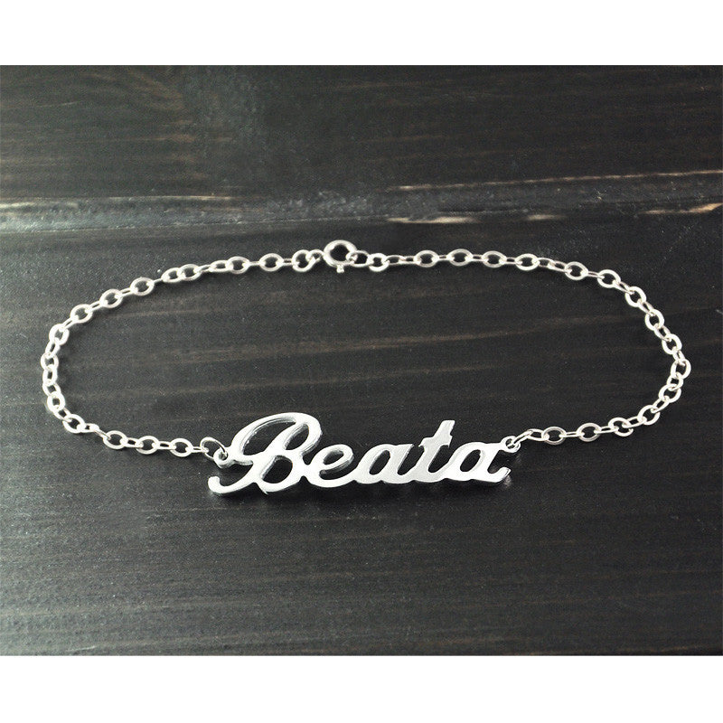 Personalized Bracelet With Your Name