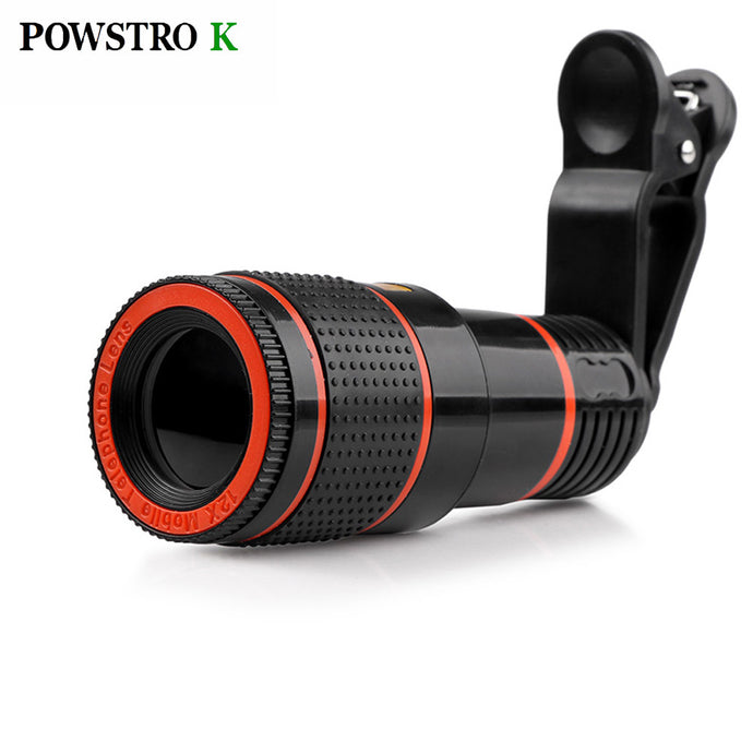 12x Zoom Telescope Camera Lens