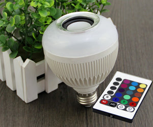 WIRELESS BLUETOOTH COLORED LIGHT BULB 6W SPEAKER FOR USA/AU/UK