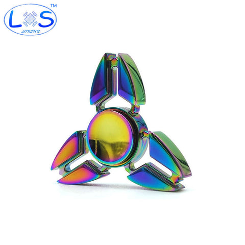Tri Spinner Metal Fidget Toy