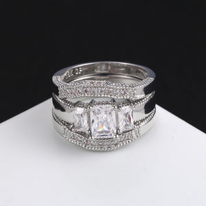 Triple Band Luxury Ring