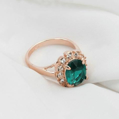 Austrian Emerald Ring