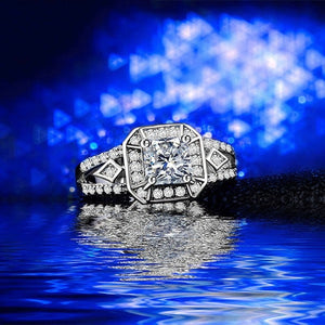 Cushion Cut Luxury Ring