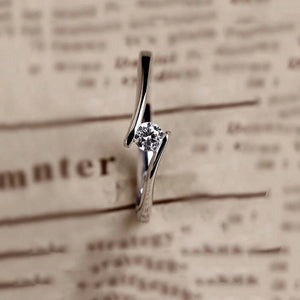 Beautiful Luxury Silver Ring