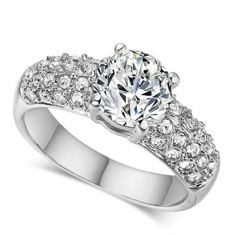 girl wedding rings luxury platinum cluster ring quotes apparel 4498