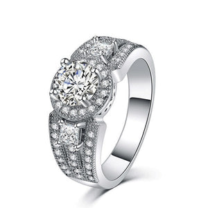 Luxury Halo Ring