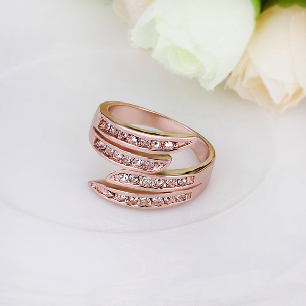 Rose Gold Wrapped Ring