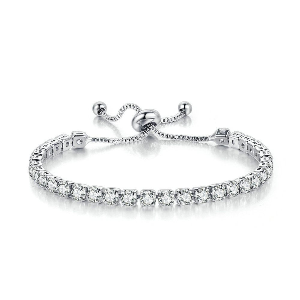Silver Adjustable Bracelet