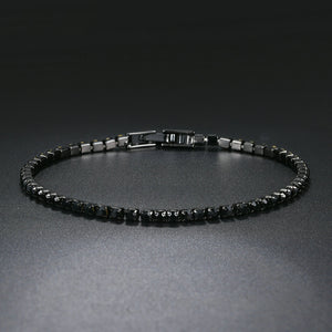 2.5mm Black Gold Bracelet