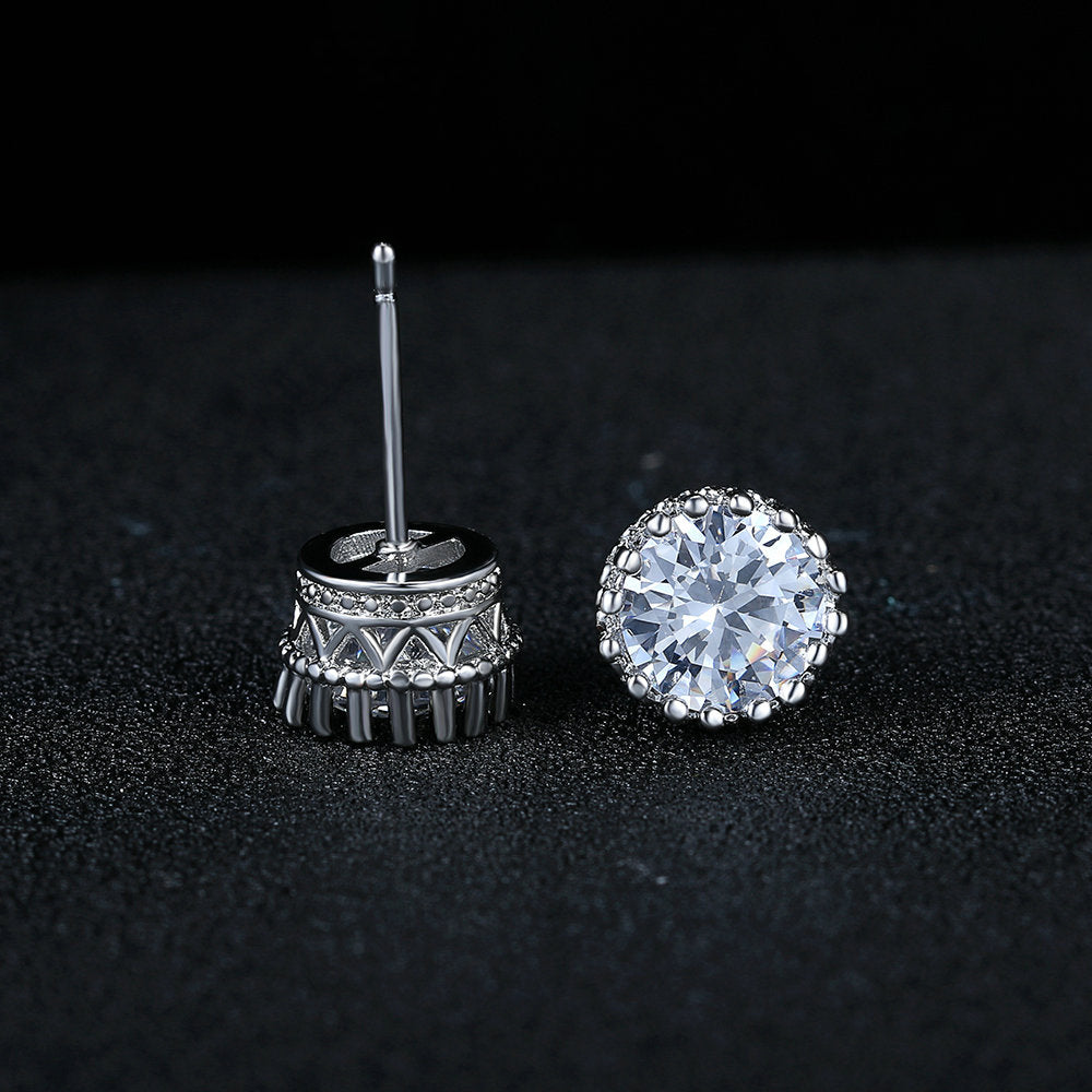 Princess Platinum Earring