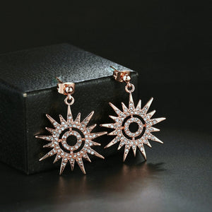 Sun Burst Earrings