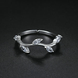 Radiant Leaves Ring