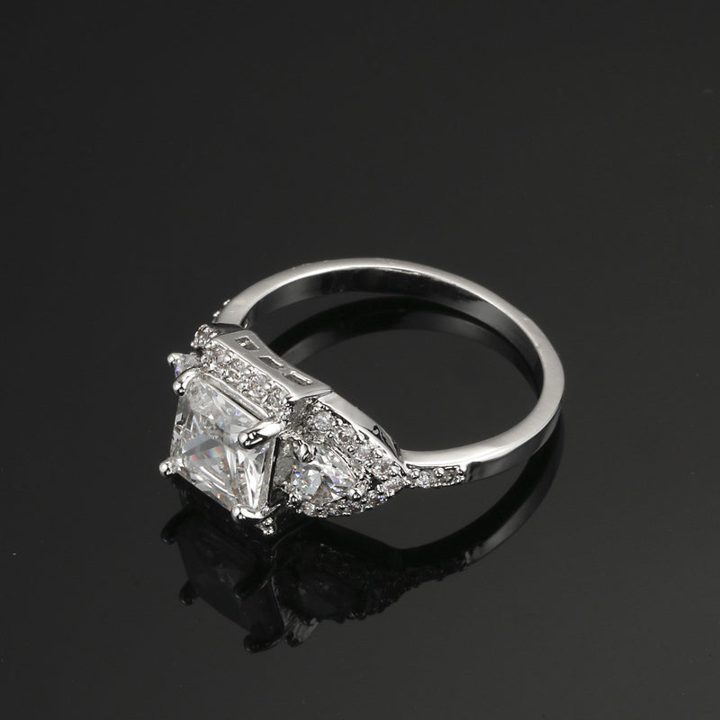 Radiant Vintage Style Ring