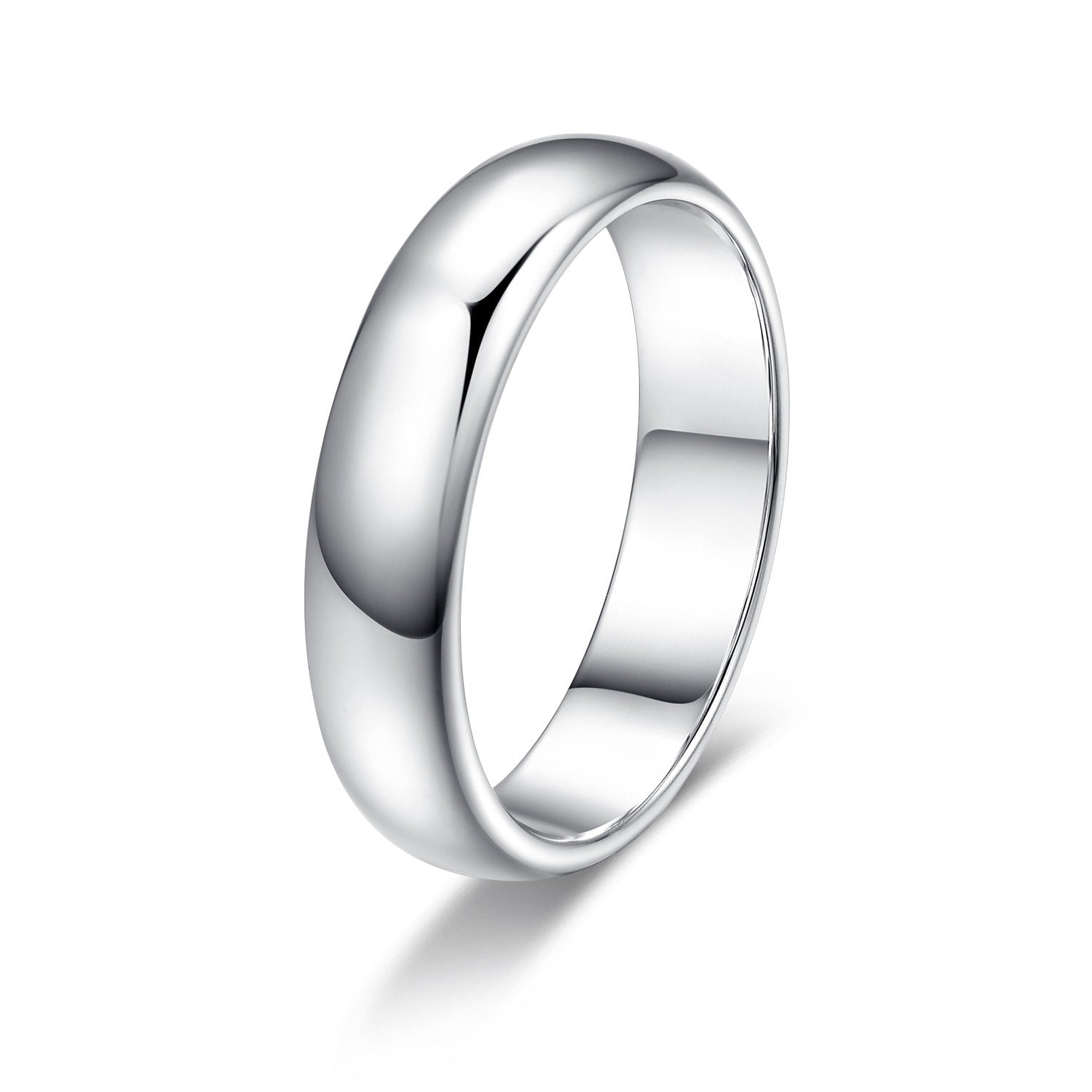 18k Silver Band