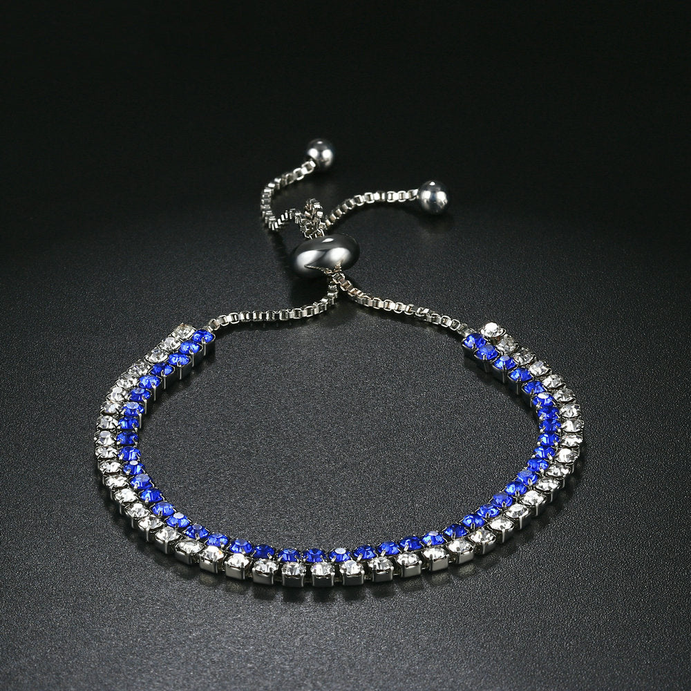 Double Tone Adjustable Bracelet