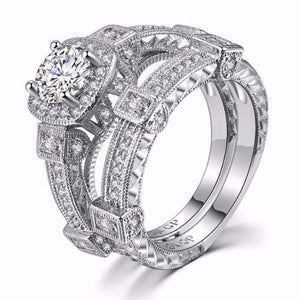 Classic Luxury Double Stack Ring