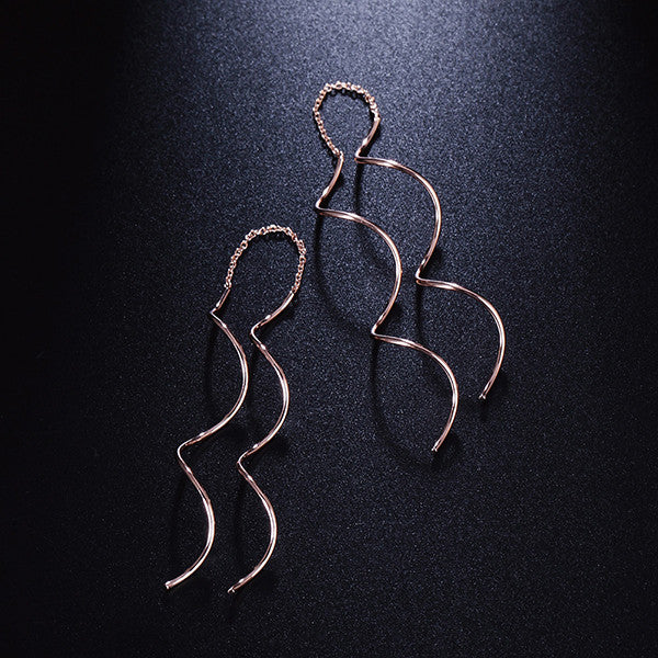 Luxury Spiral Earrings