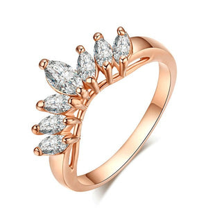 Rose Gold Marquis Ring