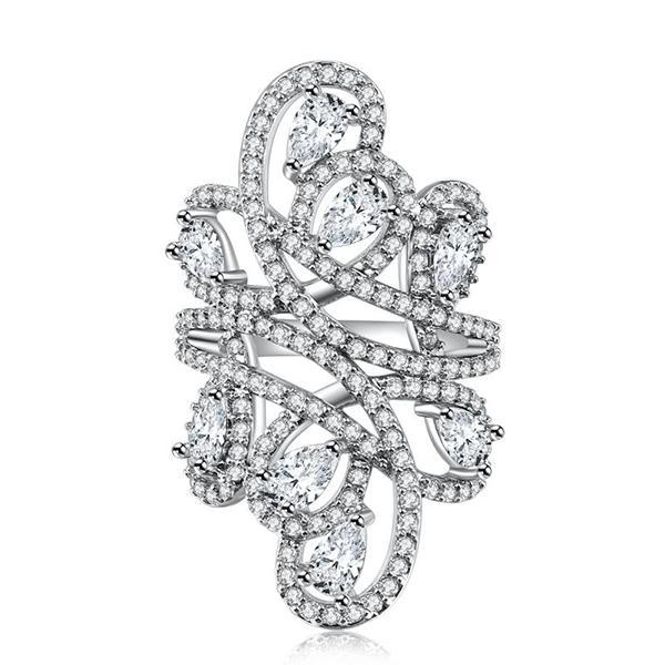 Luxurious Filigree Ring