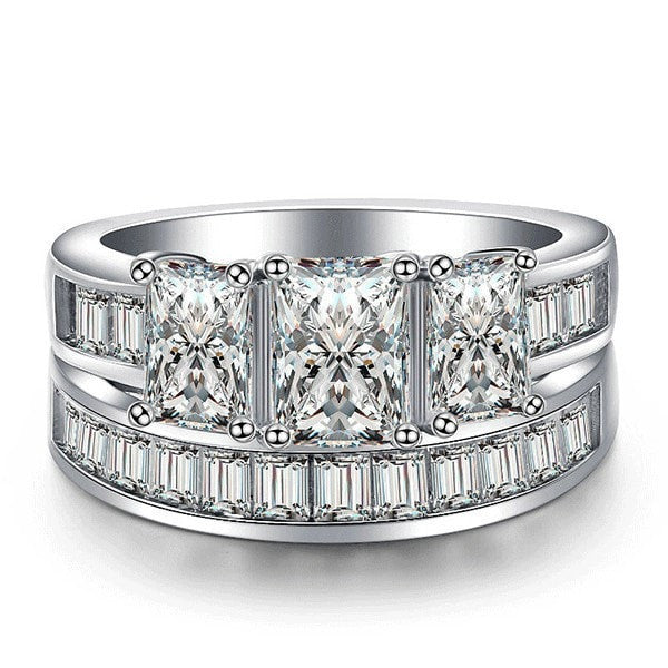 Luxurious Princess Ring Set