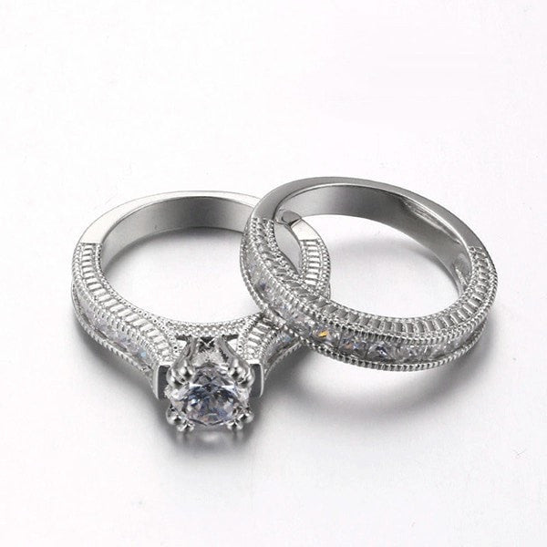 Luxury Intricate Ring Set