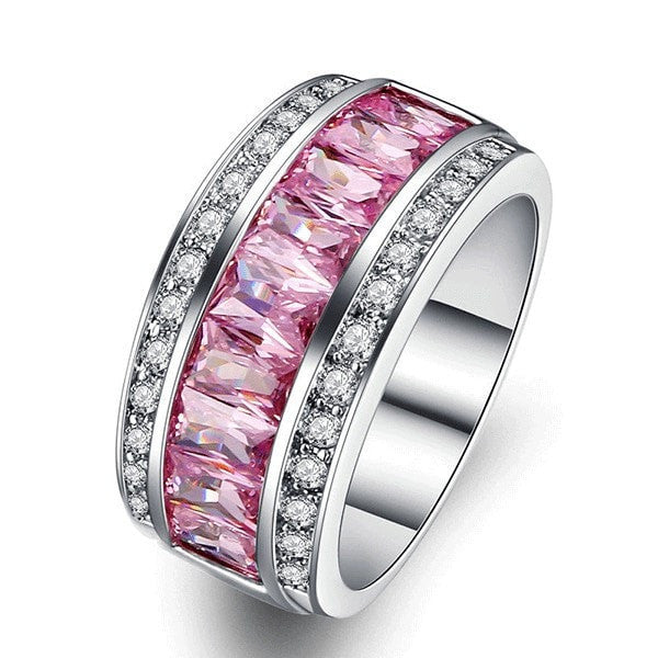 Luxury Princess Pink Ring