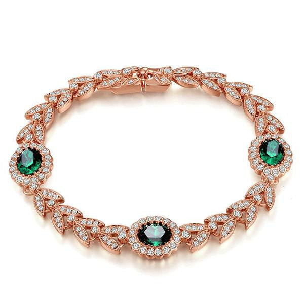 Luxury Emerald Bracelet