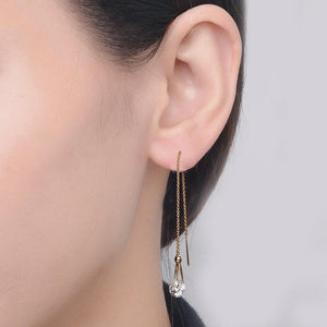 Chain Rain Drop Earrings