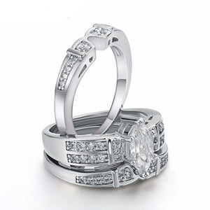 Triple Luxury Ring Set