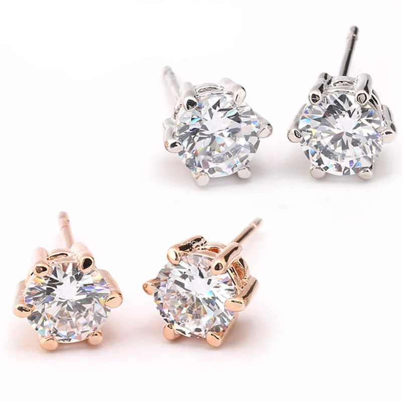 Stunning Six Claw Luxury Ear Rings