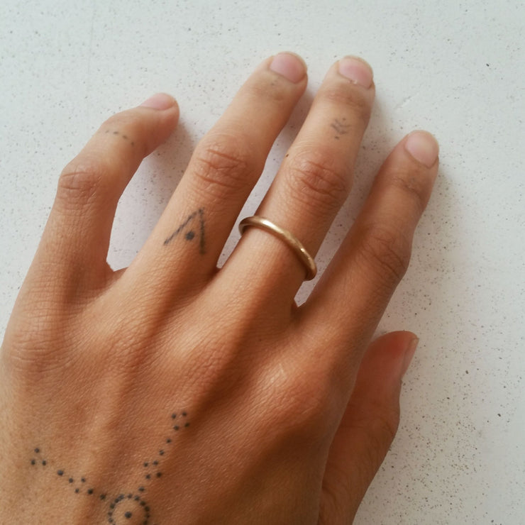 Mist Stacking Ring | Solid Gold - Catori Life