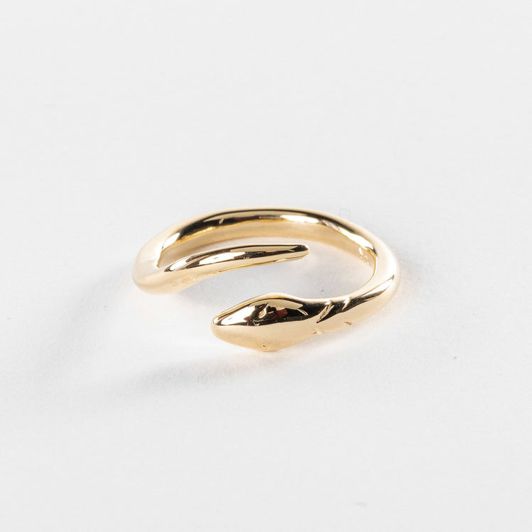 Serpent Ring | Solid Gold - Catori Life