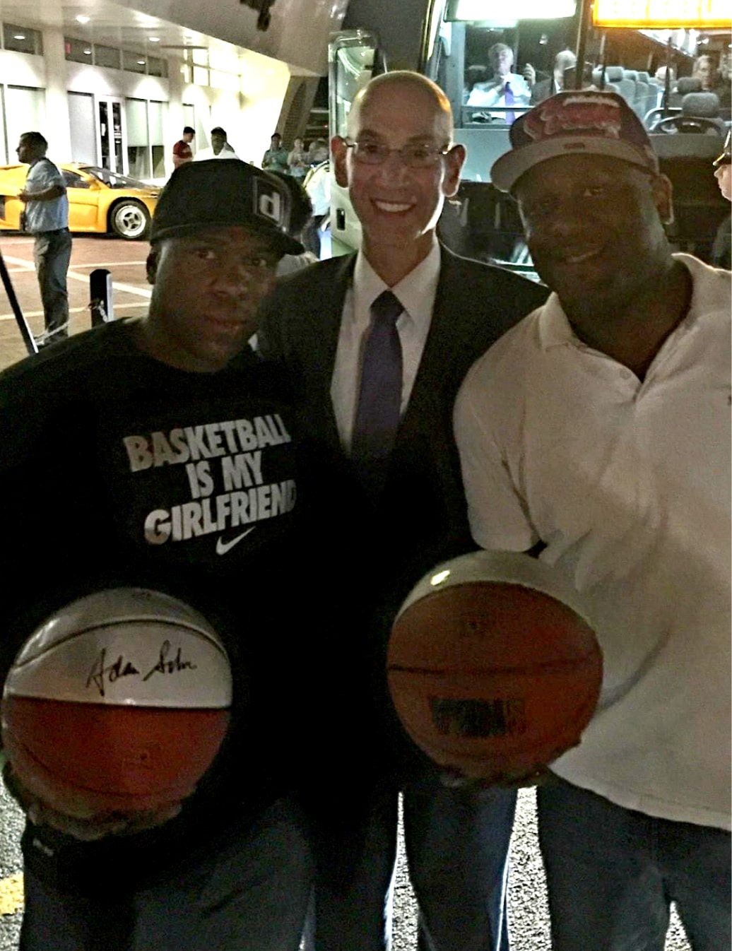 The Commissioner Of the NBA Adam Silver