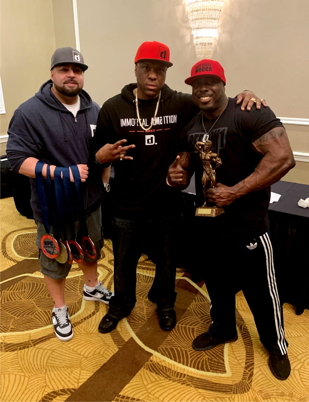 Circle of Success<br>IFBB Pro George Peterson<br>111 2019 Classic Arnold Champ