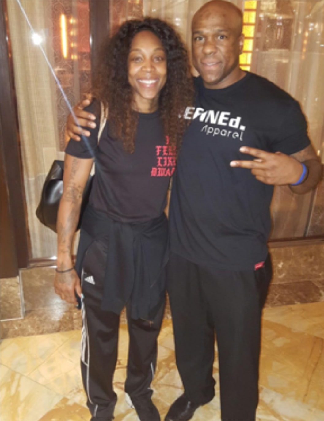 With Rutgers Hall of Fame WNBA Cappie Pondexter