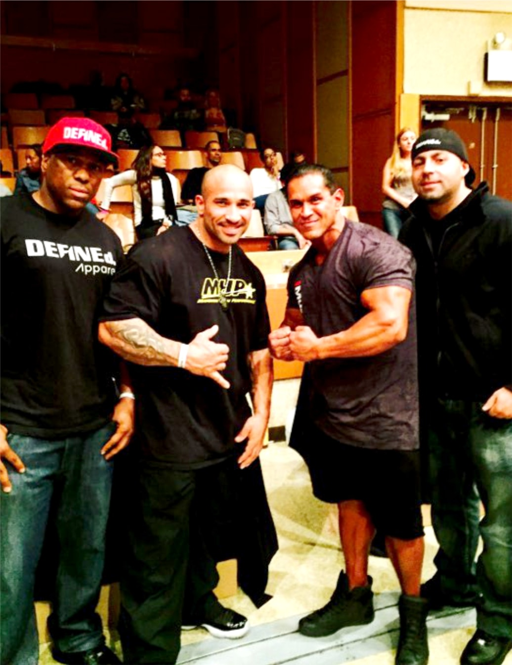 IFBB Pro 3x Olympian, 2X Arnold Classic and 2015 Puerto Rico, Marco Rivera and IFBB pro judge Fabian Orozco