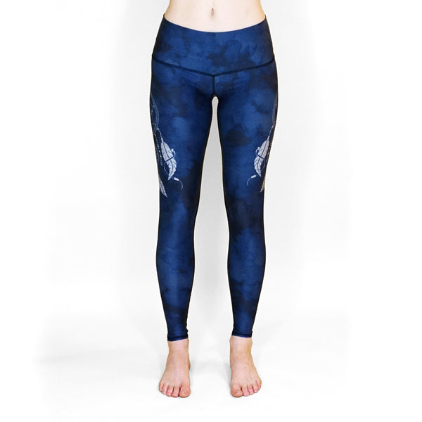 Dreamcatcher Blue Leggings